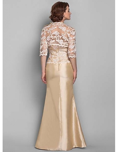 KATE - Mother of the bride Cheap Trumpet/Mermaid Floor length Tulle Lace Sweetheart Wedding party dresses