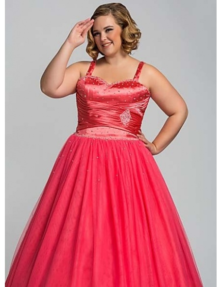 YARIN - Quinceanera dresses A-line Floor length Stretch satin Tulle Sweetheart Occasion dress