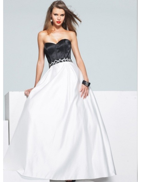 ALISA - Bridesmaid A-line Taffeta Sweetheart Wedding dress