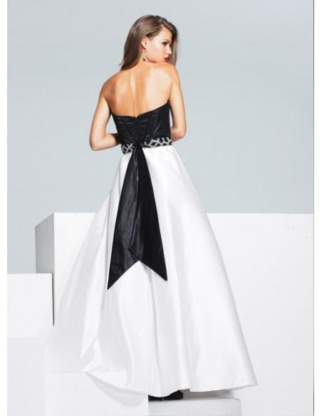 ALISA - Bridesmaid A-line Taffeta Sweetheart Wedding dress