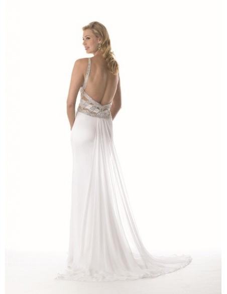 LIISBET - Evening dresses Trumpet/Mermaid Stretch satin V-neck Occasion dress