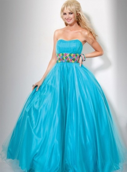 DIMITRA - Quinceanera dresses A-line Tulle Strapless Occasion dress