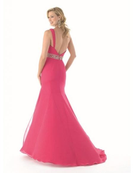 GAIA - Evening dresses Trumpet/Mermaid Chiffon One shoulder Occasion dress