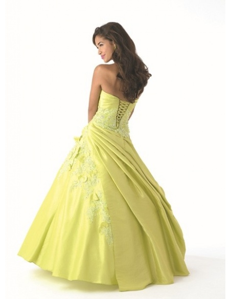ADRIANA - Quinceanera dresses A-line Taffeta Strapless Occasion dress