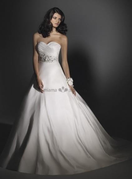 Taffeta A-Line Wedding Dress