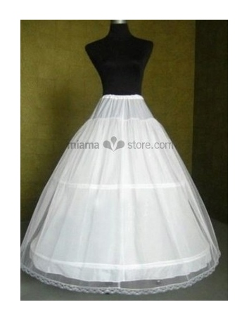Tulle A-Line slip Ball gown slip Full gown slip 2 Tiers Wedding petticoat