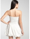 CHLOE - Bridesmaid Short/Mini Satin Strapless Wedding party dress