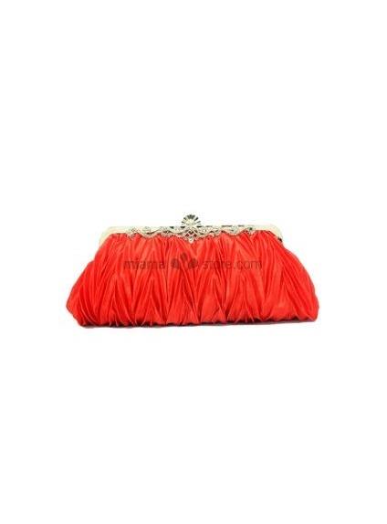 Red Stain Rhinestone Special Occasion Handbags/Clutches