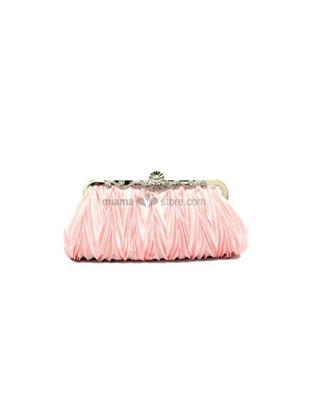 Pink Stain Rhinestone Special Occasion Handbags/Clutches