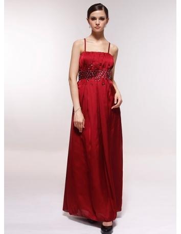 SVITA - Bridesmaid Cheap Princess Floor length 30D Chiffon Square neck Wedding Party Dress
