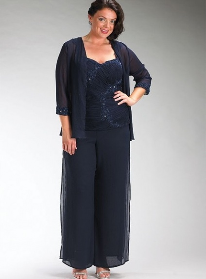 CHLOE - Pant suit Sheath/Column Ankle length Chiffon Sweetheart Wedding Party Dress