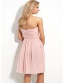 BABETTE - Bridesmaid A-line Knee length Chiffon Sweetheart Wedding Party Dress