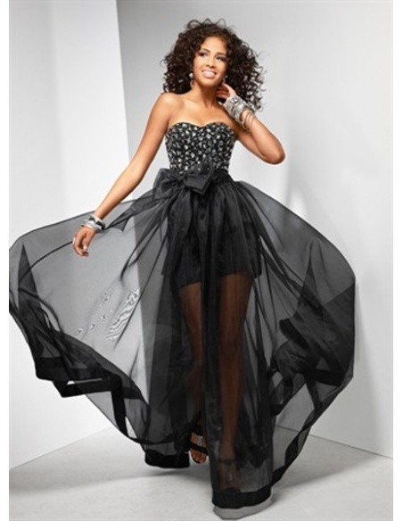 MARCIA - Cocktail dresses A-line Floor length Chiffon Sweetheart Occasion dress