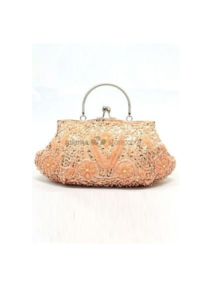 Champagne Stain Beading Special Occasion Handbags/Clutches