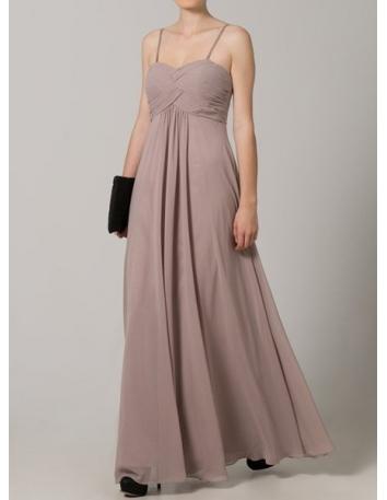STEPHANIE - Bridesmaid A-line Floor length Chiffon Sweetheart Wedding Party Dress