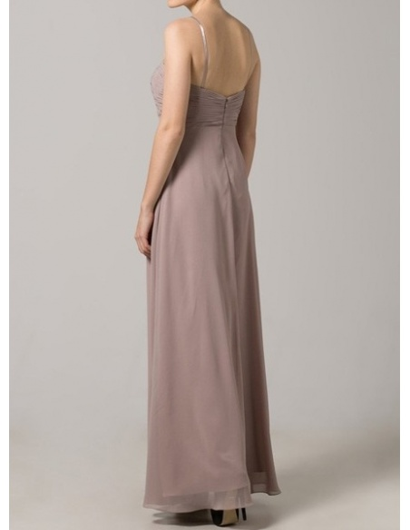 STEPHANIE - Bridesmaid A-line Floor length Chiffon Sweetheart Wedding Party Dress
