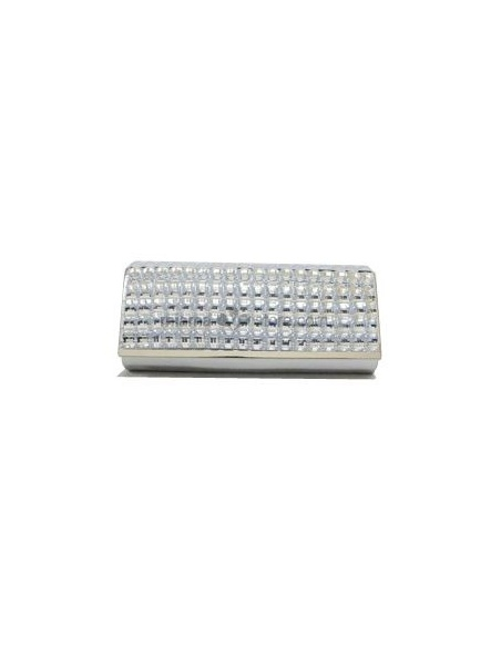 Silver PU Special Occasion Handbags/Clutches