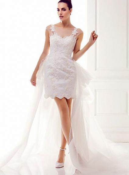 uk availability 59921 9cf5a Abiti da sposa corti con tulle – Vestiti da cerimonia