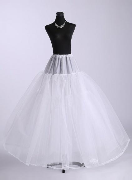 Tulle A-Line slip Ball gown slip Full gown slip 4 Tiers Wedding petticoat