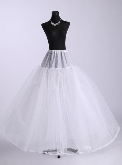 Tulle A-Line slip Ball gown slip Full gown slip 4 Tiers Wedding petticoat