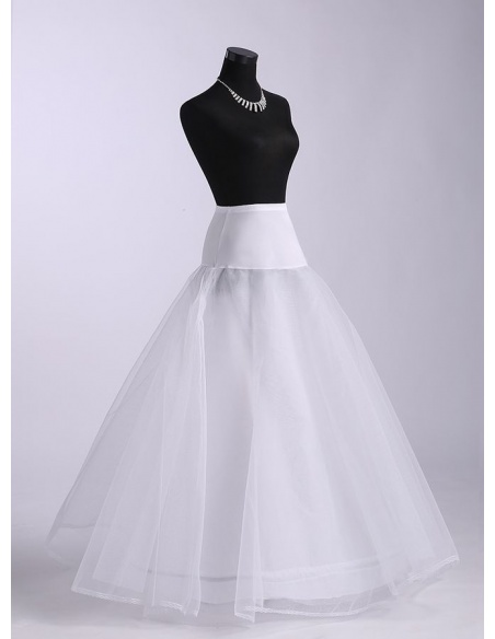 Tulle A-Line slip Full gown slip 2 Tiers Wedding petticoat