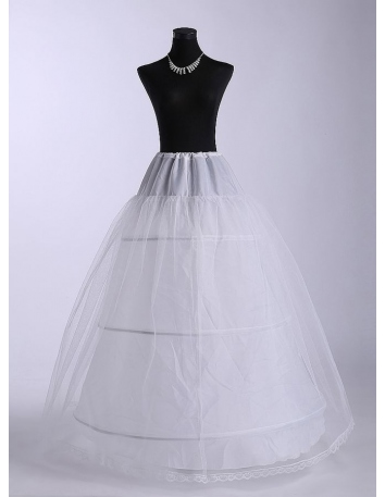 Tulle A-Line slip Ball gown slip Full gown slip 3 Tiers Wedding petticoat