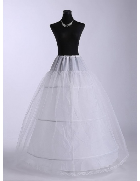Tulle A-Line slip Ball gown slip Full gown slip 3 Tiers Wedding petticoat