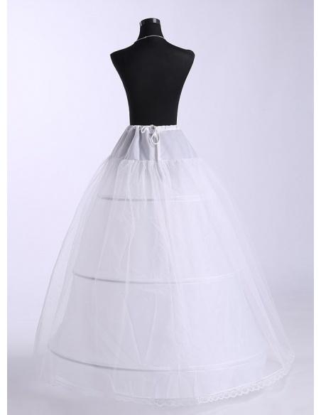 Tulle A-Line slip Ball gown slip Full gown slip 2 Tiers Wedding petticoat