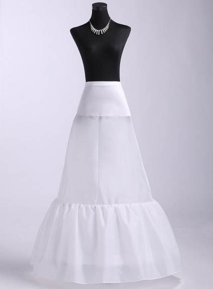 Taffeta Mermaid and Trumpet gown slip Short flare slip Medium fullness slip 1 Tiers Wedding petticoat