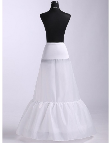 Taffeta Mermaid and Trumpet gown slip Short flare slip Medium fullness slip 1 Tiers Wedding petticoat