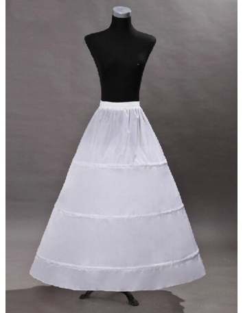 Taffeta A-Line slip Ball gown slip Full gown slip 1 Tiers Wedding petticoat