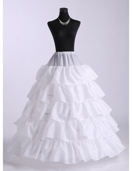Taffeta A-Line slip Ball gown slip Full gown slip Wedding petticoat
