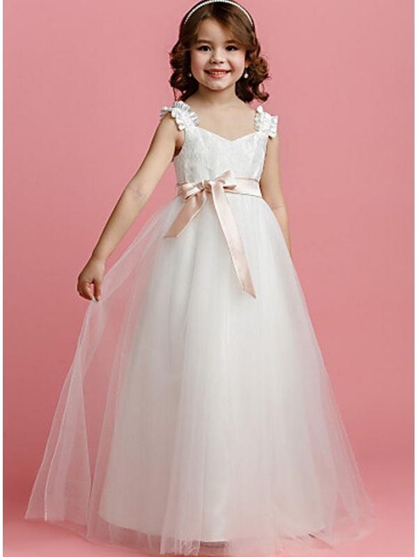 Favorito Abito da Sposa Ragazze Abito Elegante da Bambina Tutu Vestito per  JY26