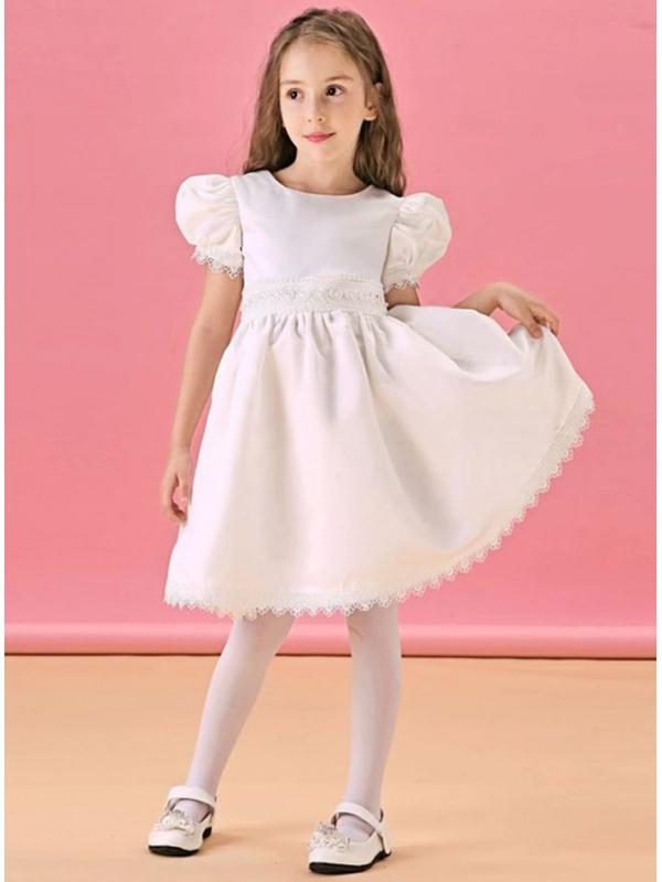 Vestiti eleganti prima comunione bambina