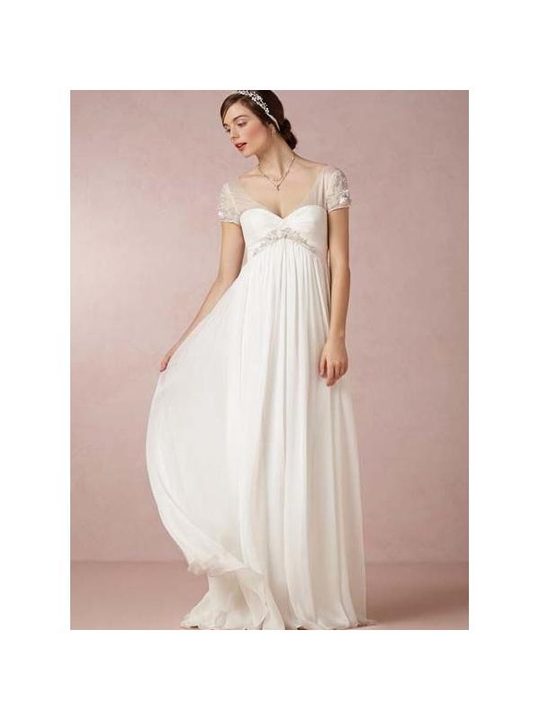 Abiti da sposa stile impero invernali  Bei vestiti Italia