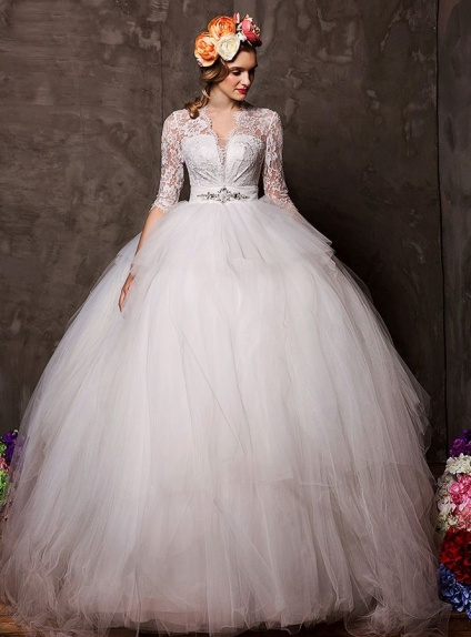 robe de mariage style princesse. Black Bedroom Furniture Sets. Home Design Ideas