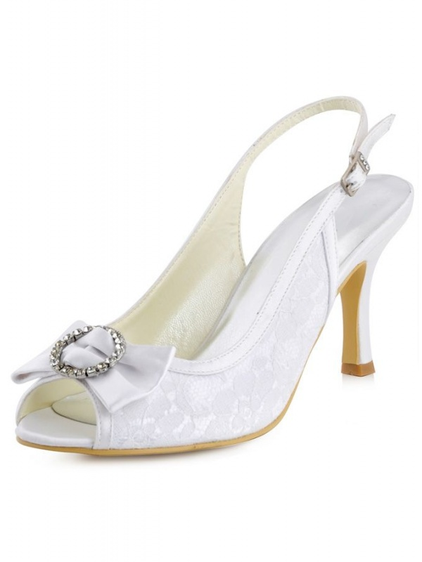 scarpe bianche tacco