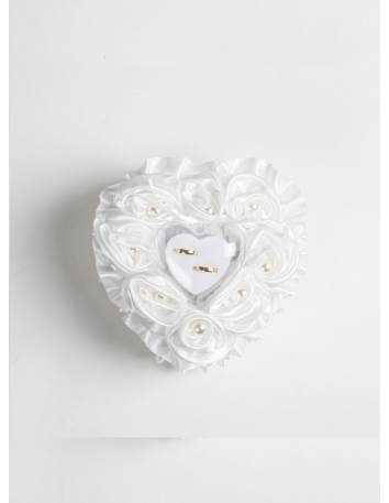 Picture color Satin Wedding Ring Pillow