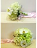 Bouquet Sposa finto con orchidee