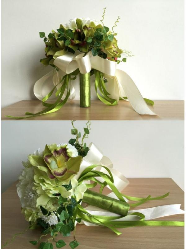 Bouquet Sposa Verde.Bouquet Sposa Economico Online Verde