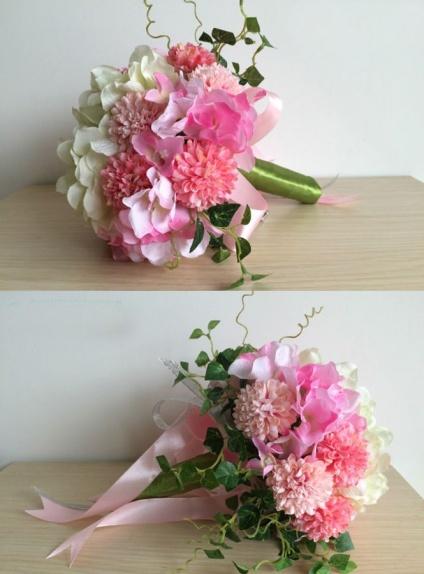 Bouquet Sposa economico online rosa