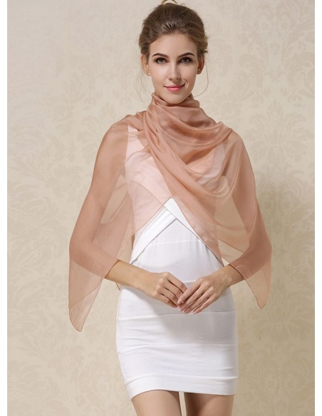 100% Mulberry silk Noble Wedding and Formal Wraps