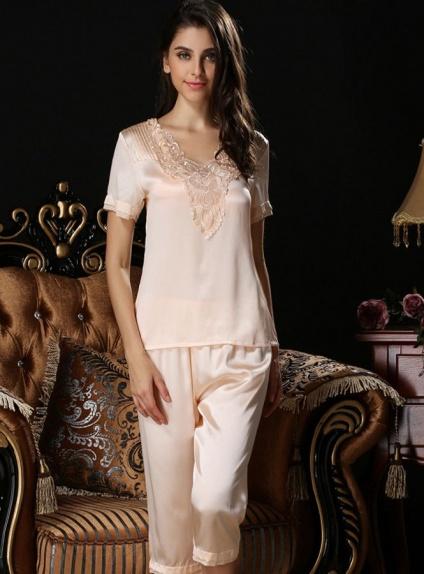 Vestaglie da sposa a pantaloni in Seta 100% online