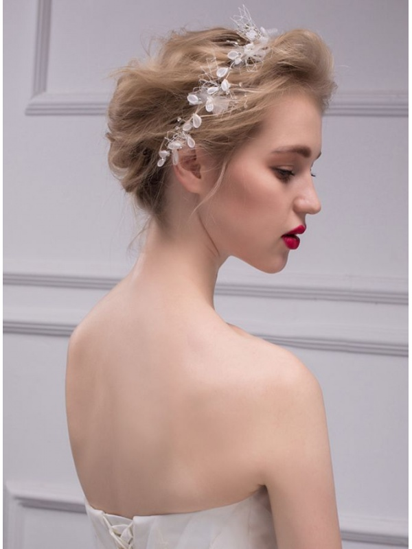 colori armoniosi nuovi prodotti per stile unico Cerchietto per acconciature Sposa