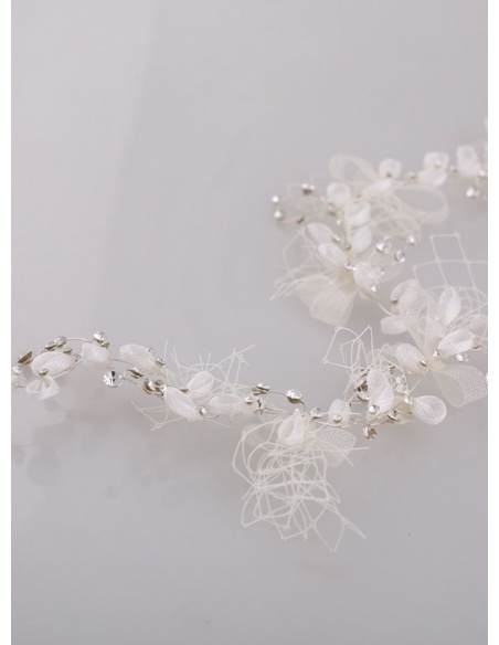 Photo color Tulle Wedding Bridal Headpiece