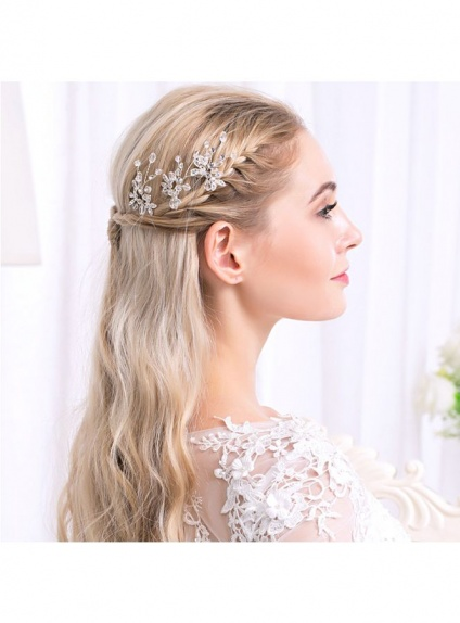 Photo color Alloy Wedding Bridal Headpiece