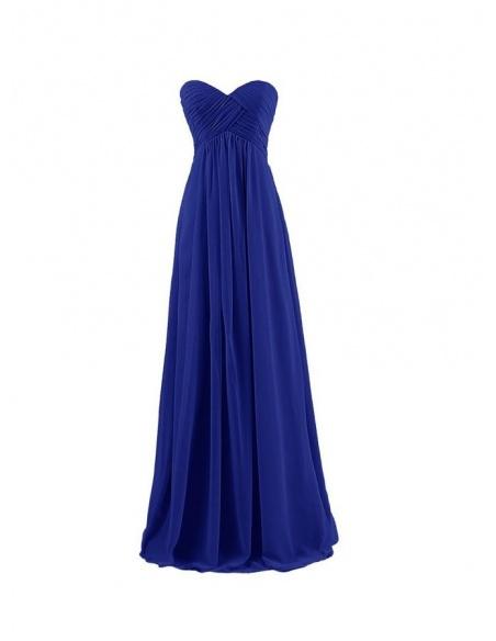 Vestito per damigella in pronta consegna blu online