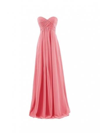 Vestito per damigella in pronta consegna color anguria online