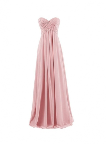 Vestiti Eleganti Rosa Antico.Vestito Per Damigella In Pronta Consegna Rosa Antico Online