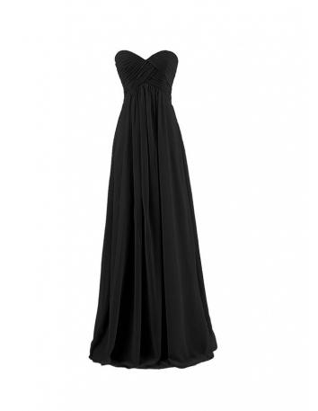 Vestito per damigella lungo in pronta consegna nero